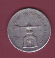 190118 - !!! FAUX Pièce Fausse !!! - MEXIQUE - UNA ONZA TROY DE PLATAPURA  1979 CASA DE MONEDA DE MEXICO - México