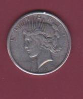 190118 - !!! FAUX Pièce Fausse !!! -  ETATS UNIS - ONE DOLLAR 1929 PEACE - Émissions Fédérales