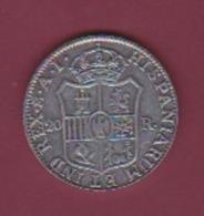 190118 - !!! FAUX Pièce Fausse !!! -  ESPAGNE - 20 Real  IOSEPH NAP.DEI GRATIA 1810 - Sin Clasificación
