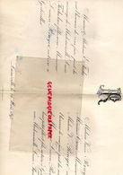 54- GERBEVILLER- RARE FAIRE PART MARIAGE E. FUCHS -LUCIE FUCHS  AVEC LUCIEN ROUYER NOTAIRE- M. CROUE- LUNEVILLE 24 MARS - Boda