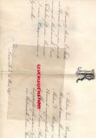 54- GERBEVILLER- RARE FAIRE PART MARIAGE E. FUCHS -LUCIE FUCHS  AVEC LUCIEN ROUYER NOTAIRE- M. CROUE- LUNEVILLE 24 MARS - Wedding