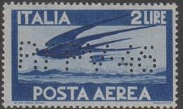 """Trieste 1946 Perforato """"RFPV 46"""" Posta Aerea 2 Lire MNH - 7. Trieste"""