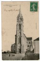 CPA   44      PONTCHATEAU     1909       L EGLISE - Pontchâteau