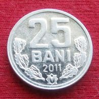 Modova 25 Bani 2011 KM# 3 Moldavia - Moldova
