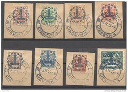 """Polen /Poland """" Porto Briefmarken –Sonder Stempel Ausgabe + Stempel Cieszyn"""" - Postage Due"""