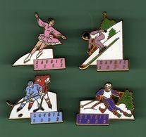 SAVOIE 1992 *** Lot De 4 Pin's Differents *** Signe Arthus BERTRAND *** 0502 - Arthus Bertrand