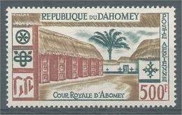 Dahomey (Benin), Royal Palaces, Abomey, 1960, MNH VF  Airmail - Benin - Dahomey (1960-...)