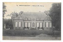 HERSIN-COUPIGNY  (cpa 62)   Château De Mr Devicq -    - L 1 - France
