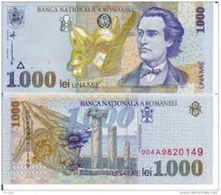 Romania   1000    Lei 1998 - Romania
