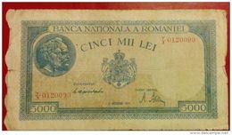 Romania   5000    Lei 1944 - Romania