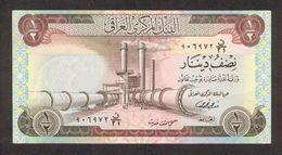 IRAQ 1/2 DINAR 1973 PICK 62 UNC - Iraq