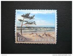 Baltic Coastal Landscapes # Lietuva Litauen Lituanie Litouwen Lithuania 2001 MNH # Mi. 766 - Lithuania