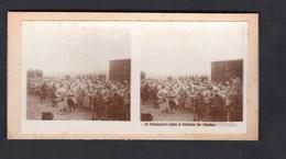 Vente Immediate Carte Photo Stereo Guerre 14-18 Prisonniers Allemands Faits à Perthes Les Hurlus - France