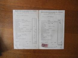 SAINT SAULVE INSTITUTION NOTRE-DAME DE LA GARDE COMPES DES 6.7 ET 20 7bre 1936 - Diploma & School Reports