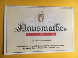 6542 - Hausmarke Spezialfüllung Modèle D'imprimerie Voir Description - Autres