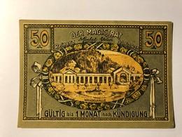 Allemagne Notgeld Reinerz 50 Pfennig - [ 3] 1918-1933 : Weimar Republic