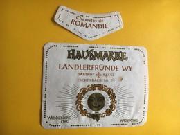6544 - Chasselas De Romandie Landlerfründe Wy Gasthof Kreuz Eschenbach  Suisse - Etiquettes