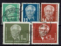 DDR 1952 // Michel 322/326 O (15.590) - [6] République Démocratique
