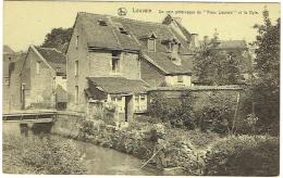 """Louvain. Coin Pittoresque Du """"Vieux Louvain"""" Et Dyle. - Leuven"""