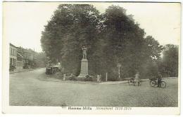Hamme-Mille. Monument 1914-1918. - Beauvechain