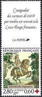 France 1995 - King Louis XIII On Horseback ( Mi 3091C - YT 2946a ) MNH** + Label Red Cross - Frankreich