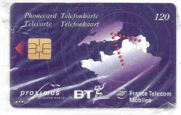 BELGIUM - UK - FRANCE : 120u For Use On EUROSTAR  Only  MINT In Transparent Blister - Service & Tests