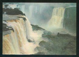 Brasil. PR - Fóz Do Iguaçú. *Cataratas...* Circulada 1966. - Brasil