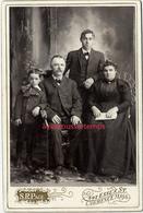 Grand CDV (CAB) Belle Photo De Famille En 1905-photo S. R. Page Essex Street à Lawrence Massachusets Etats Unis - Fotos