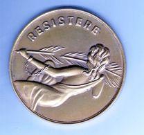 Médaille,resistere,la Presse Bruxelloise  Victime Du Nazisme 1940-1945 - Belgique