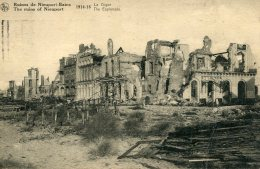 BELGIUM - The Ruins Of Nieuport 194-1918.  1923 Postmark Oostende - Belgique