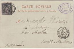 CPA La Meije 15 Août 1900 / Hôtel JUGE / 05 LA MEIJE / Hautes Alpes - Maps
