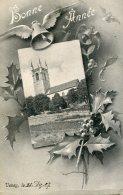 SWITZERLAND -  Bonne Annee Vevey 1907 - VG Postmarks Etc - GE Genève