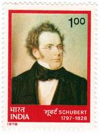 INDIA STAMPS, 25 DEC 1978, SCHUBERT, MNH - India
