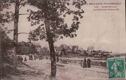 1380  ST BRIEUC 1910  TIMBRE ECRITE - Saint-Brieuc