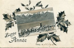SWITZERLAND -   Vevey -Bone Annee 1908 - VD Vaud