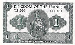 Royaume De France  1 Silver Shilling  2016   UNC  Charles Martel - Specimen