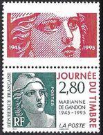 France 1995 - Marianne Of Gandon ( Mi 3076 - YT 2934 ) MNH** + Label - France