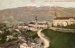 SWITZERLAND -   Chur - Katholisches Priesterseminar 1909 - Autres