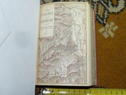 St. Maurice Genfersee Lac Leman Monthey Chessel Villeneuve St. Gingolph Vionraz Switzerland Map Karte 1892 - Carte Geographique