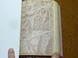 Sion Les Diablerets Leytron St. Pierre Chamoson Riddes Ardon Veisonaz Nendaz Switzerland Map Karte 1892 - Cartes Géographiques