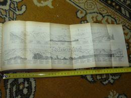 Torrenthorn Gornergrat Zermatt Thal Gletscher Switzerland Map Karte 1892 - Cartes Géographiques