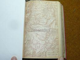 Zermatt Monte Rosa Riffelberg Balfrin Switzerland Map Karte 1892 - Cartes Géographiques