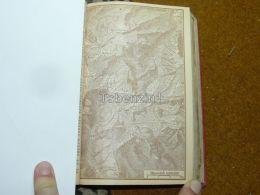 Tödi Gemsfayer  Switzerland Map Karte 1892 - Geographical Maps