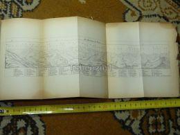 Piz Mundaun  Switzerland Map Karte 1892 - Cartes Géographiques