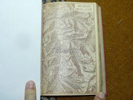 Ober Engadin Scanfs Zuz Bevers SamadenSt. Moritz Campfer Surlej Sils Switzerland Map Karte 1892 - Cartes Géographiques