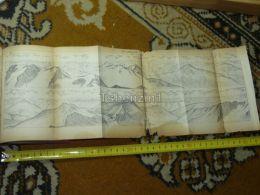 Piz Languard Switzerland Map Karte 1892 - Cartes Géographiques
