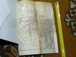 Torino Italy Map Karte 1892 - Geographical Maps