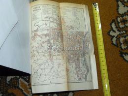 Torino Italy Map Karte 1892 - Carte Geographique