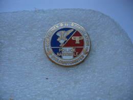 Pin's De Compagnies De Circulation Cyclomotoristes De La Police Nationale - Police