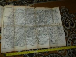 Savoyen Geneve Lausanne Pallanza Locarno Albertville Turin Milano Switzerland Map Karte 1892 - Geographical Maps